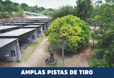 AMPLAS PISTAS DE TIRO