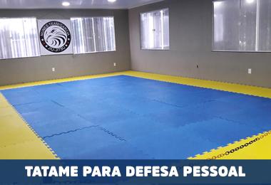 TATAME DE DEFESA PESSOAL