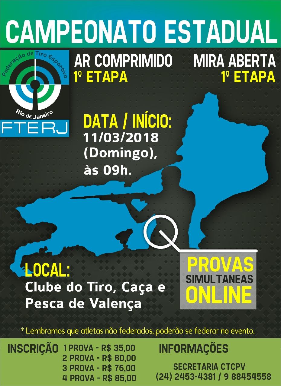 Convite FTERJ 1 etapa