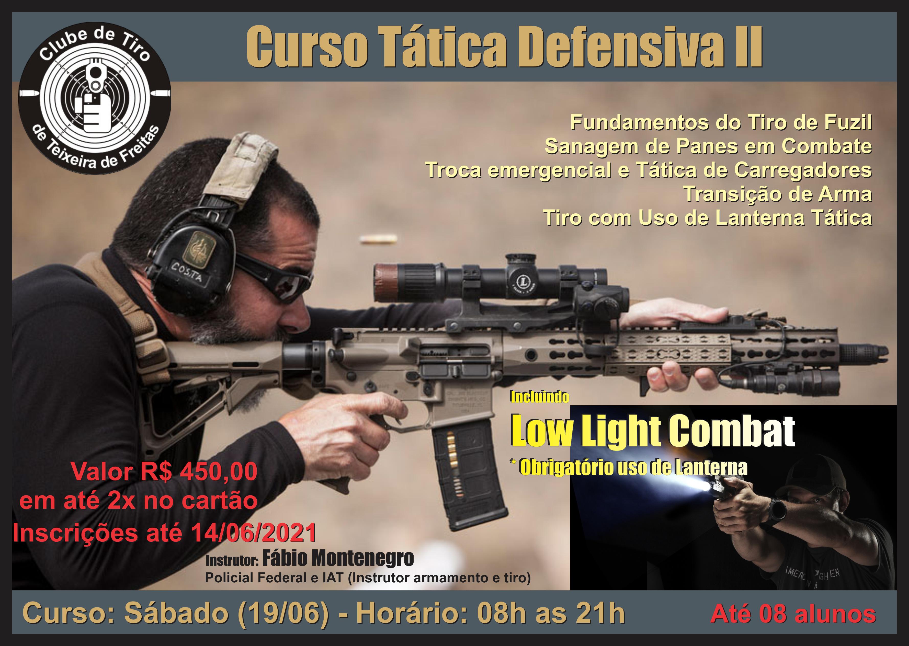 Curso Tática Defensiva II - Banner